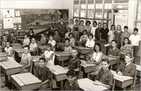 Norland Elementary School 6th Grade Class in 1961