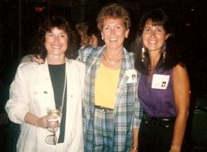 Debbie Simon, Margie Phifer and Jonna Barren at the 25
