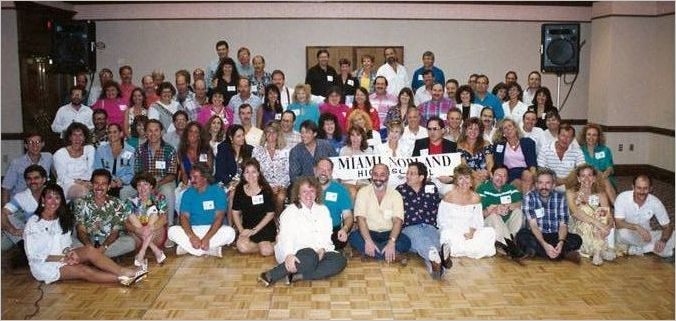 Norland Class of 1967 25-Year Reunion Picture